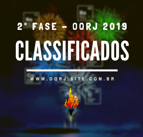Classificados OQRJ 2019