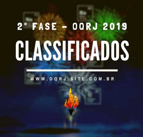Classificados OQRJ 2019